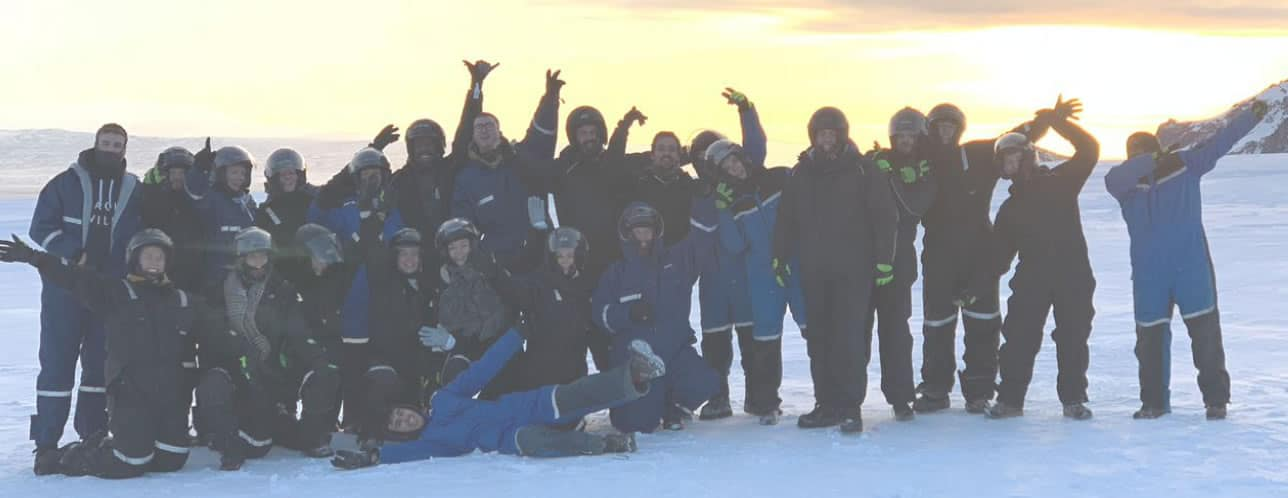 Planet IT Team together in Iceland